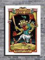 PEARL JAM - LIVE @ CHICAGO canvas print - self adhesive poster - photo print
